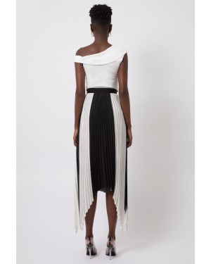 Bodhi Skirt in Black and White