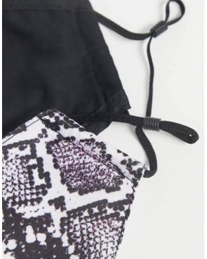 Design B London 2 Pack with Adjustable Straps in B&W