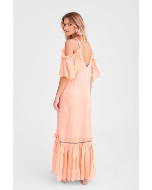 Pitusa Camille Maxi Dress in Primrose Pink