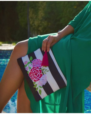 Sand & Lily Rose Clutch