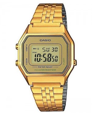 Casio LA680WGA Digital Watch in Gold
