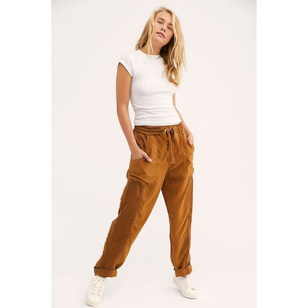 Free People Run My Way Jogger in Inca