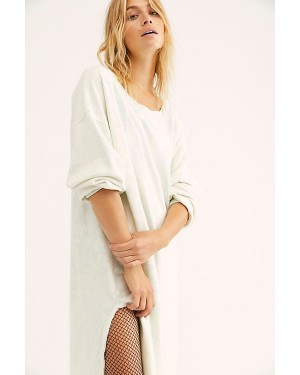 Free People We The Free Eclipse Pullover in Arctic Water